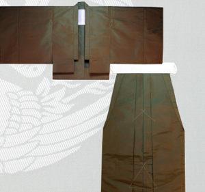 管方装束 海松色直垂
