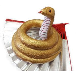 木製一刀彫 還城楽・蛇(右方)