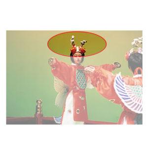 迦陵頻装束 天冠(てんかん・花付)
